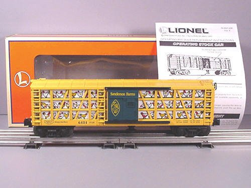 Lionel 6 19882 Sanderson Farms Poultry Car