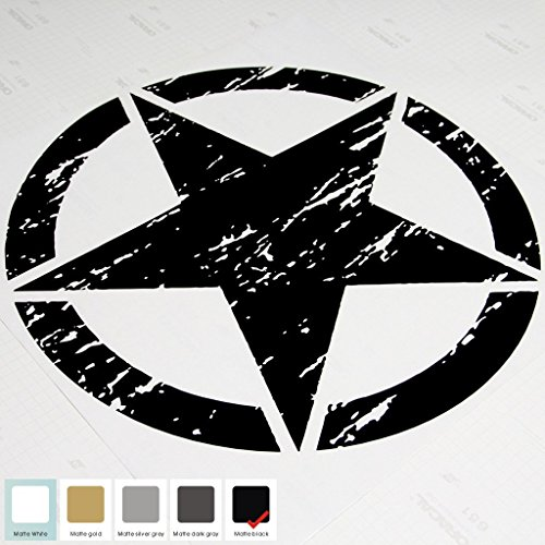 20-jeep-wrangler-freedom-edition-star-hood-decal-sticker-matte-black