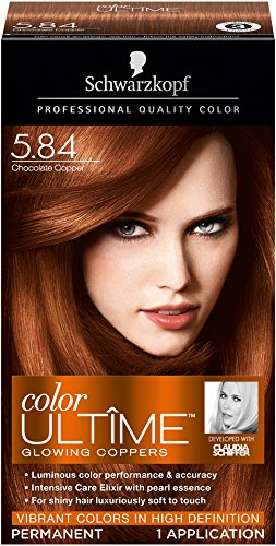 Price comparison product image Schwarzkopf Color Ultime Hair Color Cream, 5.84 Chocolate Copper