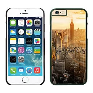 Iphone 6 Case, New York City Iphone 6 Plus(5.5-inch) Cases Black Cover by icecream design