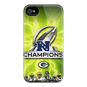 Tpu Case Cover Compatible For Iphone 4/4s/ Hot Case/ Green Bay Packers