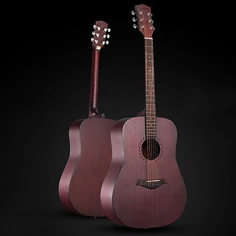 Boll-ATur Guitarra acústica para principiantes, juego de guitarras ...
