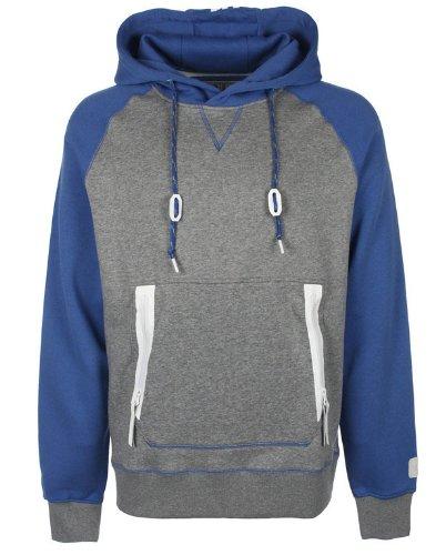 Adidas Originals para Hombre Gluhwein colección Forro Polar Sudadera con Capucha - Gris - pequeño: Amazon.es: Deportes y aire libre
