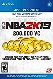 NBA 2K19: 200000 VC Pack - PS4 [Digital Code]
