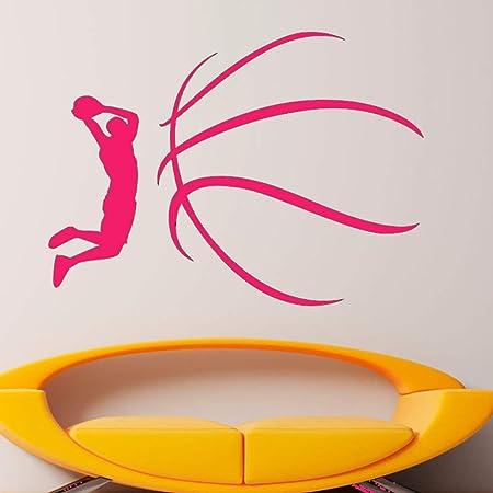 jiuyaomai Rebajas Calcomanías de Pared para Baloncesto ...