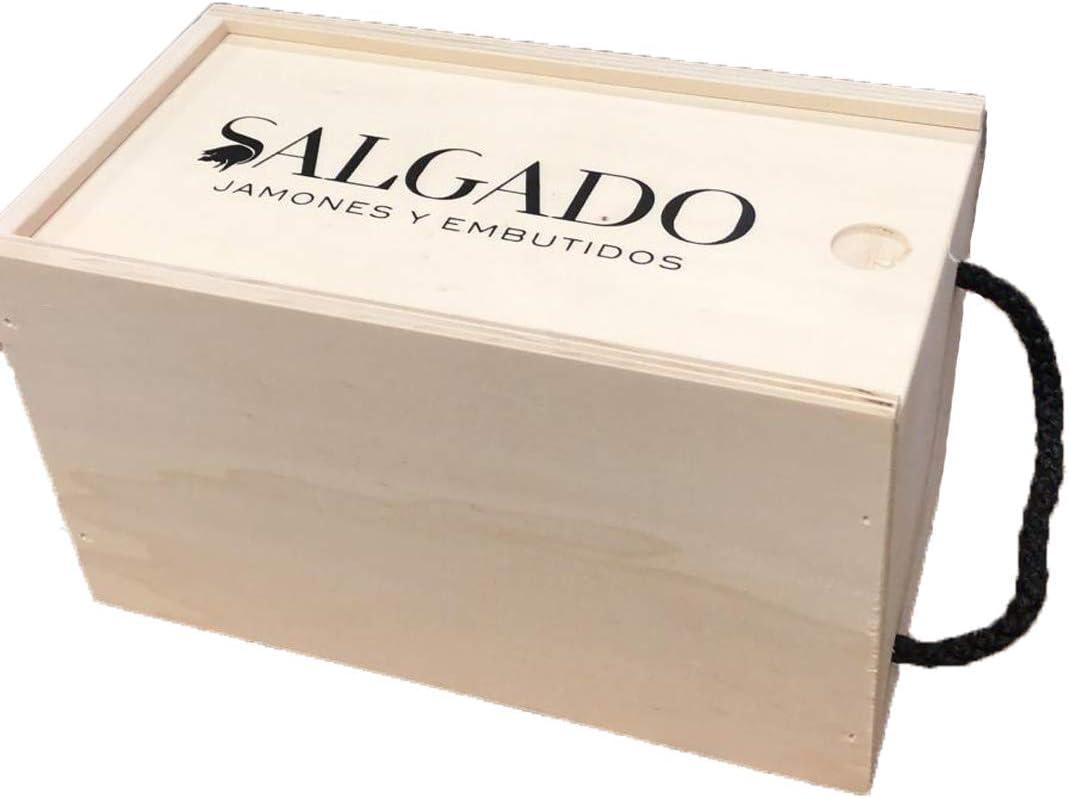 Jamón Ibérico de Cebo Salamanca Superior Embalaje Lujo. Peso aprox.1 kg. Curación mínima 40 meses.: Amazon.es: Alimentación y bebidas