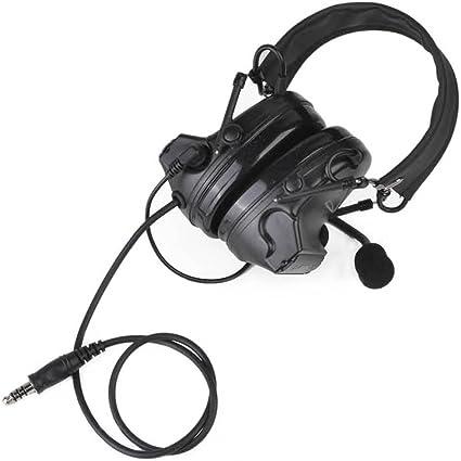 prise de son /électronique protection auditive et micro Casque tactique camouflage Comtac II avec r/éduction de bruit
