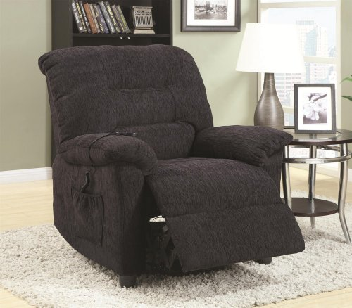 Coaster Furniture Power Lift Recliner-Grey