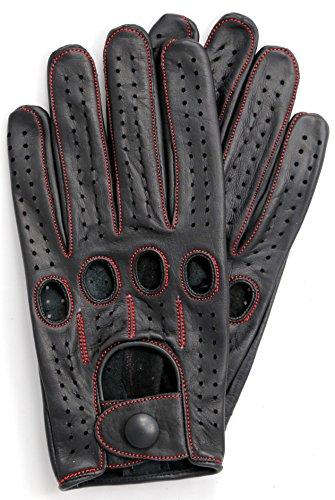 Riparo Genuine Leather Full finger Driving
