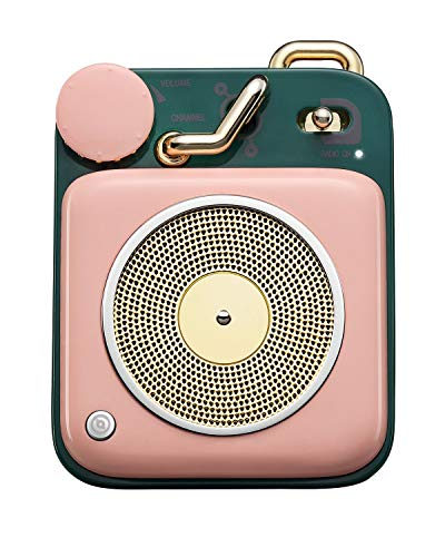 Muzen Audio Cotton Candy Button Portable Wireless High Definition Audio Bluetooth Speaker – Classic Vintage Retro Design
