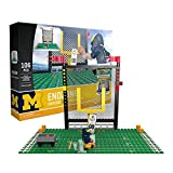 OYO NCAA Michigan Wolverines End Zone Set Gen 2 Buildable Kit, Small, Black