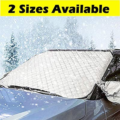 Big Ant Windshield Snow Cover for Winter Usage