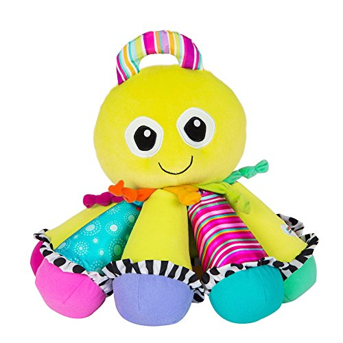 Lamaze - Octotunes Musical Toy, Help Baby Discover and Play with Sound, with Bright Colors, Fun Textures, and Eight Notes, 0 Months and Older by Lamaze