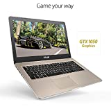 2018 Asus VivoBook PRO 15.6 4K UHD Touchscreen Business and Gaming Laptop, Intel Quad-Core i7-7700HQ 16GB DDR4 256GB SSD+2TB HDD NVIDIA GeForce GTX 1050 Backlit Keyboard Fingerprint USB Type-C Win 10