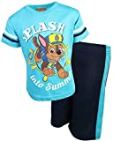 Nickelodeon Paw Patrol Boys 2-Piece T-Shirt and Mesh Short Set, Splash, Size 3T'