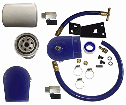 For Ford F250 F350 Coolant Filtration Filter Kit 99-03 7.3L Turbo PowerStroke