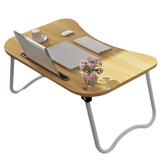 XHCP Mesa de Cama pequeña Ordenador portátil Escritorio Desayuno ...