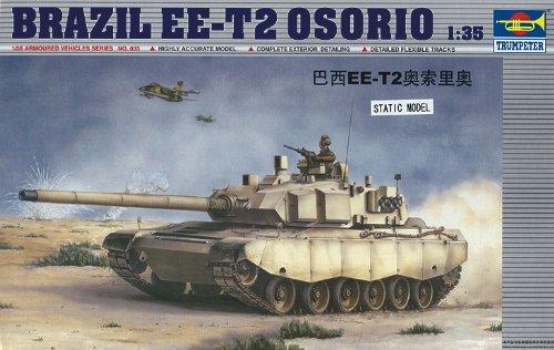Maqueta de Tanque Brazil EE-T2 Osorio Trumpeter 00333