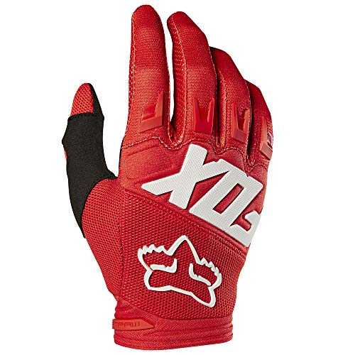 2019 Fox Racing Dirtpaw Race Gloves-Red-XL (Race Gloves Motorcycle)