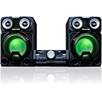 Toshiba TY-ASW8000 Mini Component Wireless Bluetooth Audio Streaming Speaker System USB SD & AUX Input