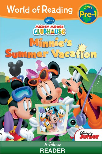 Vacation Mouse (World of Reading: Mickey Mouse Clubhouse Minnie's Summer Vacation: Level Pre-1 (World of Reading (eBook)))