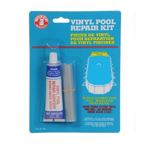 1oz Underwater Glue and Material Repair Kit, Vinyl Pool Repair Kit St@llion