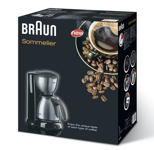 Braun 10 Cup Coffee Maker (Overseas USE ONLY) VOLTS KF610 220 Coffee Store
