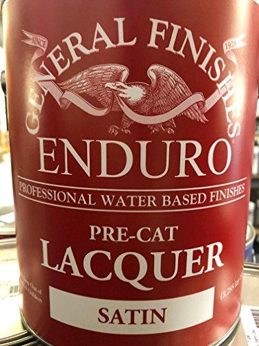 (Enduro Pre-Cat Lacquer (Satin, Gallon))