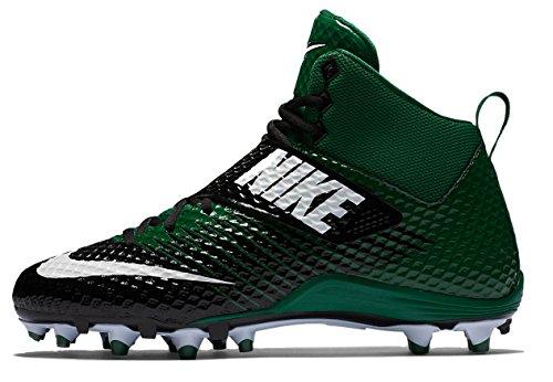 Nike Mens Lunarbeast Pro Td Tacchetti Da Calcio Sportivi Verde / Nero / Bianco