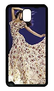 Note 3 Case, Galaxy Note 3 Case, [Perfect Fit] Soft TPU Crystal Clear [Scratch Resistant] Beyonce Knowles Fancy Dress Fun Back Case Cover for Samsung Galaxy Note 3 N9000 Cases
