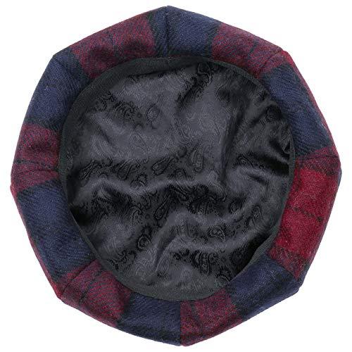 Boina De Verano Rojo Lana Con Vasca Panel 8 Lierys Oscuro By Cuadros Mujer invierno 61qdZZvw