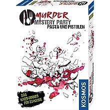 Murder Mystery Party - Pasta und Pistolen: 8 Spieler (Juguete)