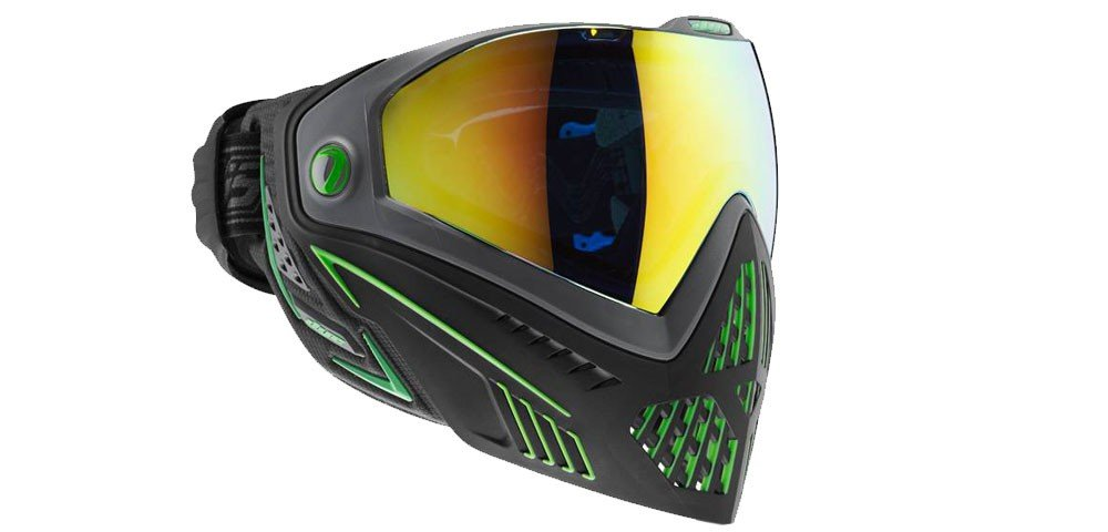 Dye i5 Paintball Goggle (Emerald) by Dye