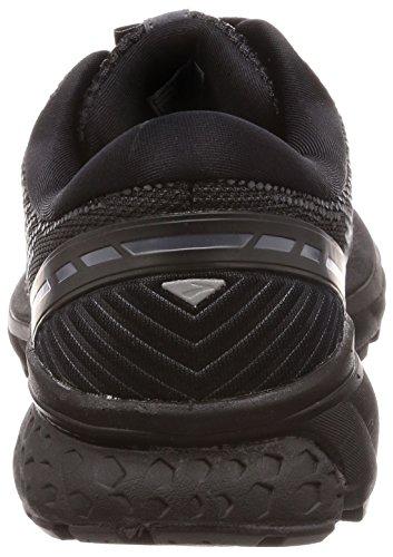 Brooks Womens Ghost 11 Running Shoe - Black/Ebony - D - 5.0 by Brooks (Image #2)
