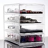 Cosmetic Case Jewelry Box Skin Care Storage Box Four Layers Drawer Finishing Box