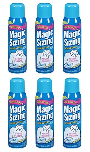 Faultless Starch 00502 Magic Sizing Fabric Finish, 20 oz (Pack of 6)