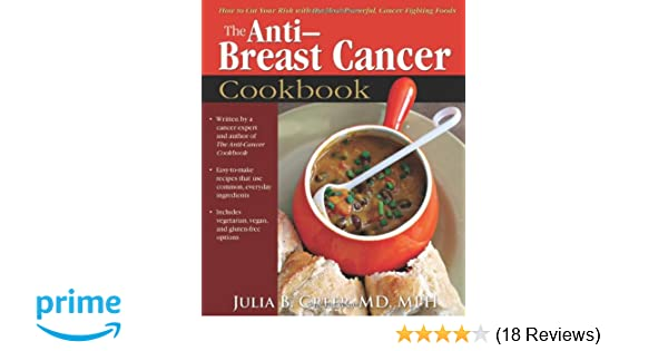 Anti-Breast Cancer Cookbook: How to Cut Your Risk with the