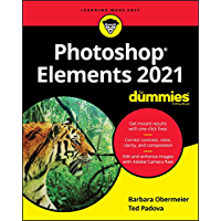Photoshop Elements 2021 For Dummies book cover
