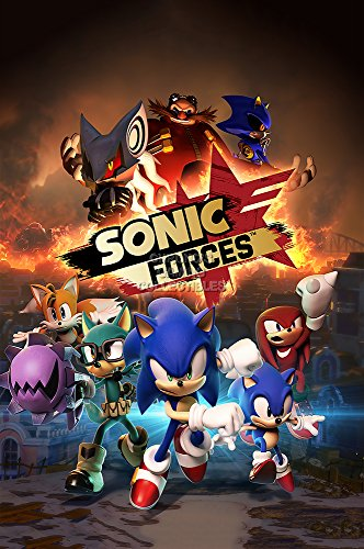 """Price comparison product image CGC Huge Poster - Sonic Forces Nintendo Switch PS4 XBOX ONE GLOSSY FINISH - OTH476 (24"""" x 36"""" (61cm x 91.5cm))"""