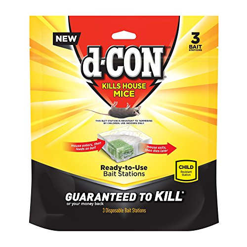 D-ConMouse Poison Bait Station, 3 Count