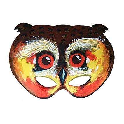 máscara de ojos de búho