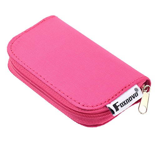 foxnovo-22-slots-sd-sdhc-mmc-cf-micro-sd-memory-card-holder-pouch-case-zippered-storage-bag-protecto