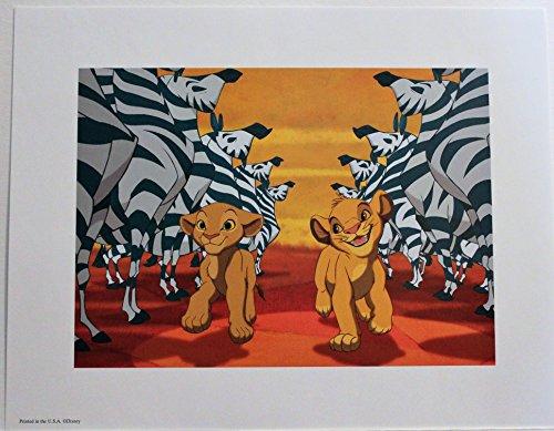 (Disney Lithograph Art Print 11