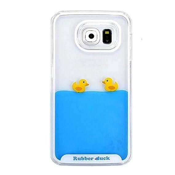 reputable site c5b2a e04c2 Amazon.com: iPhone 7 Plus Liquid Case, QKKE [ Duck Swimming Series ...