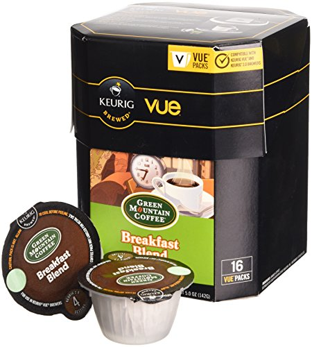 Green Mountain Coffee Breakfast Blend, Vue Cup Portion Pack for Keurig Vue Brewing Systems, 16 Count by Green Mountain Coffee Roasters (Image #2)
