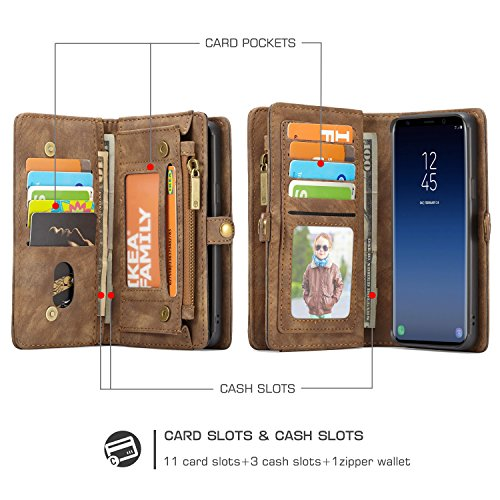 Samsung Galaxy S9 Wallet ICE FROG Detachable Magnetic