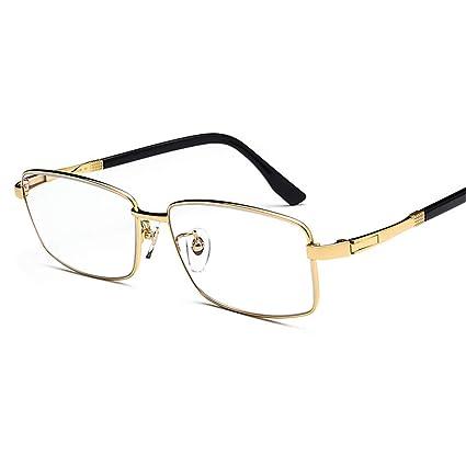 7e5d0be13e KOMNY Gran Cara de Titanio Puro lejos y Cerca de Doble Lectura Gafas HD  Inteligente Inteligente