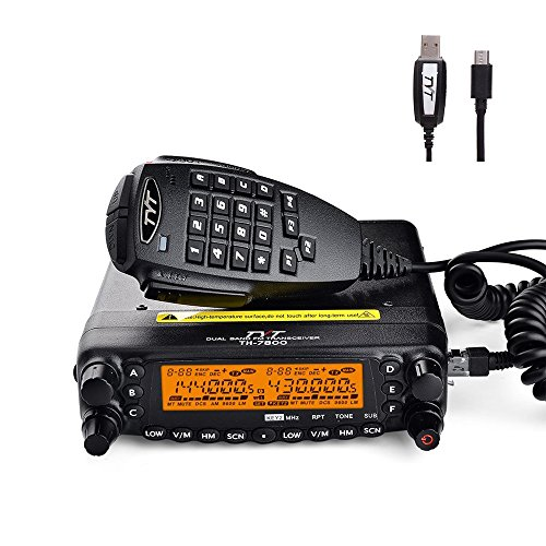 TYT TH-7800 Mobile Transceivers 50W Dual Band Ham Radio 800CH