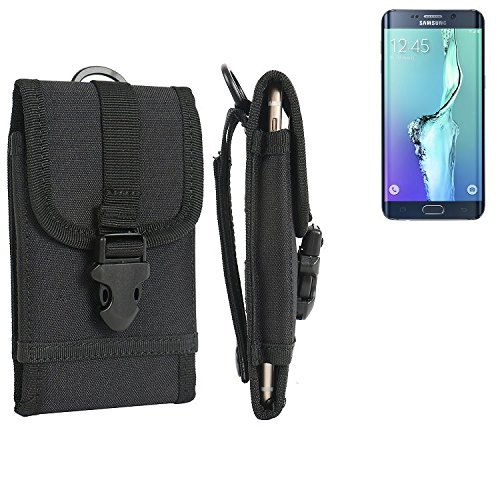 bolsa del cinturón / funda para Alcatel One Touch Idol 2 Mini Dual SIM, negro | caja del teléfono cubierta protectora bolso - K-S-Trade (TM)
