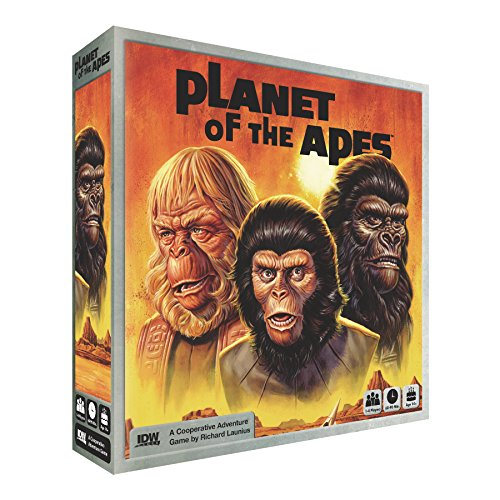 Planet of The Apes Adventure Board Game (Best Little Big Planet Game)